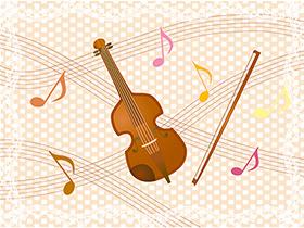 バイオリンの写真
